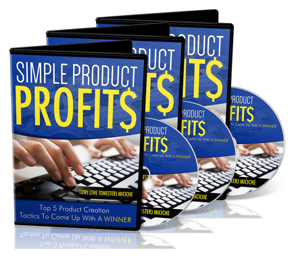 Simple Product Profits DVD image