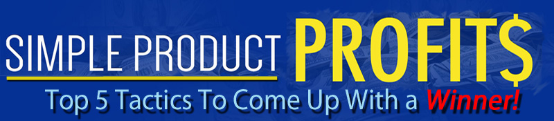 Simple Product Profits Banner