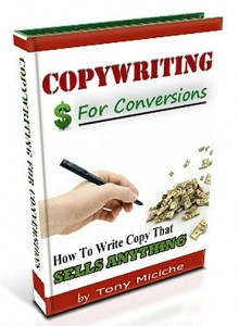 Copywriting For Conversions book cover
